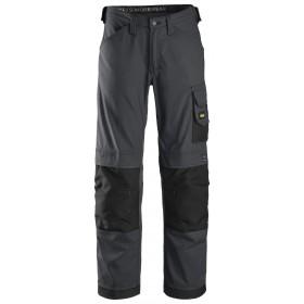 Pantalon d\'artisan Canvas+ Snickers gris anthracite - noir   Taille 48