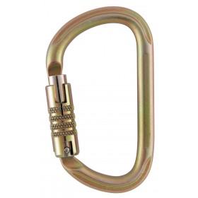 Mousqueton Petzl VULCAN en acier, Triact-Lock