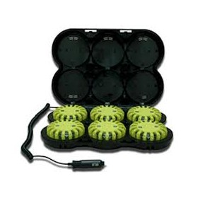 POWERFLARE valise de 6 lampes rechargeables